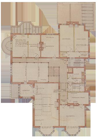 Olveston first floor.