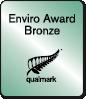 Enviro Award Bronze - Qualmark.