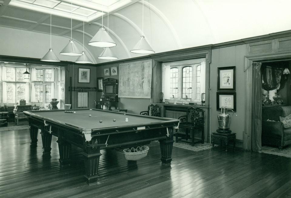 Billiards Room, 1970's (National Publicity Studios, Wellington, NZ).